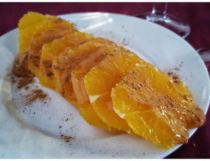 Oranges with Honey Dessert