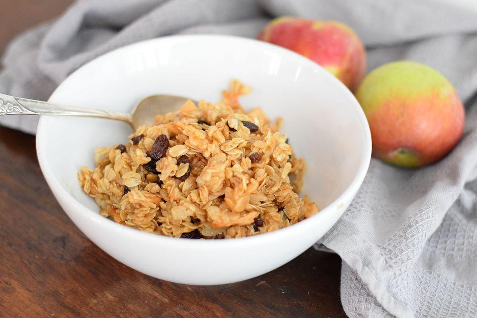 french apple pie granola