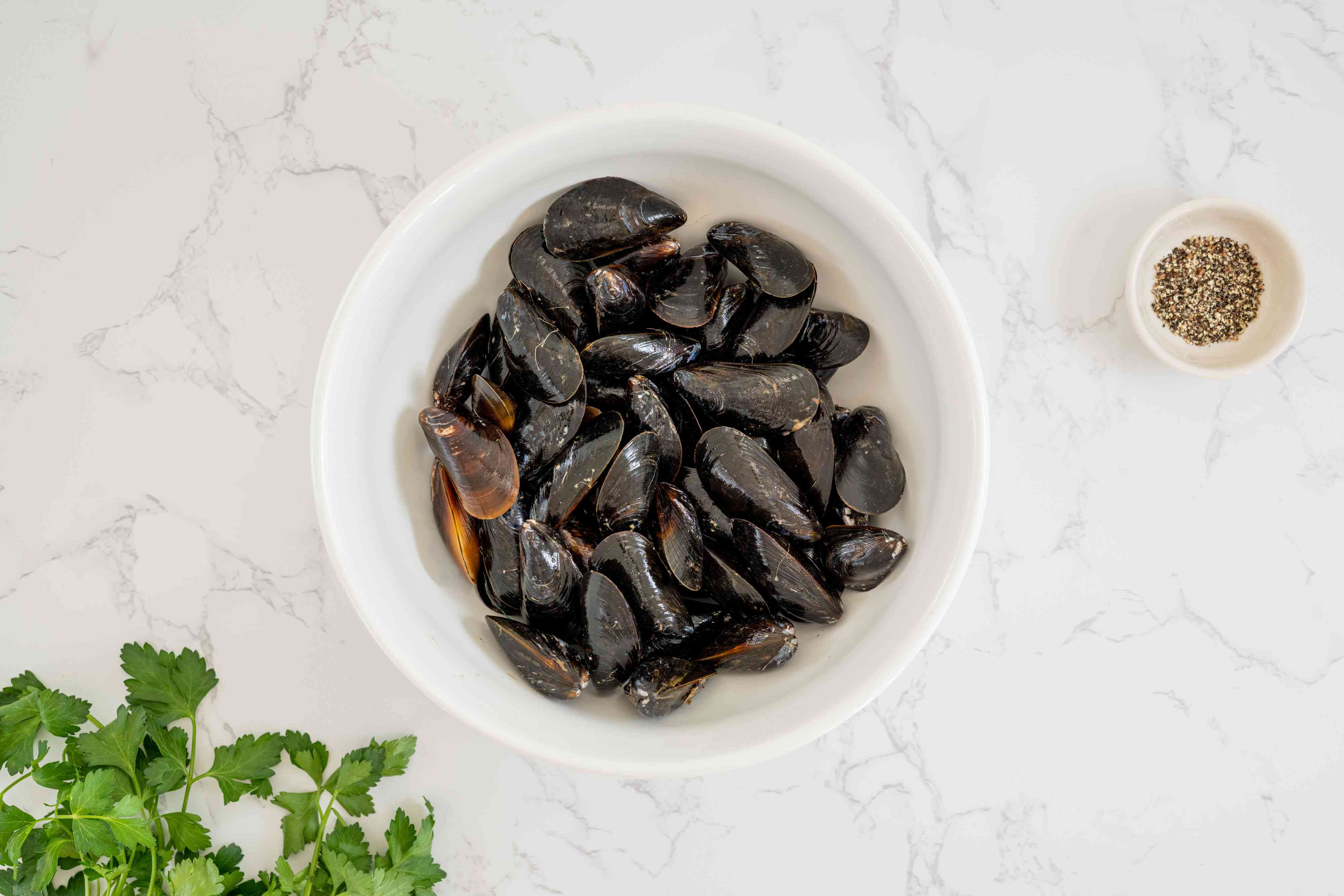 Grilled Mussels ingredients