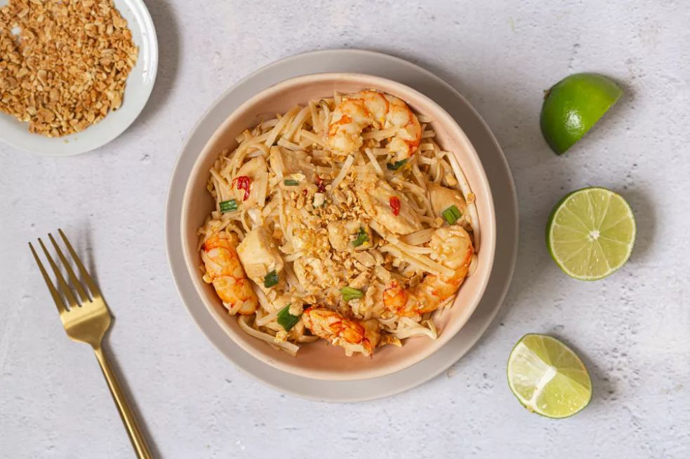 Easy Pad Thai Noodles
