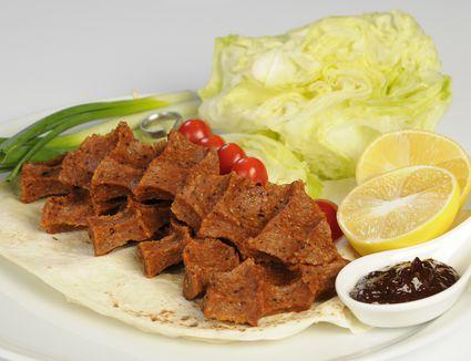 turkish steak tartar balls