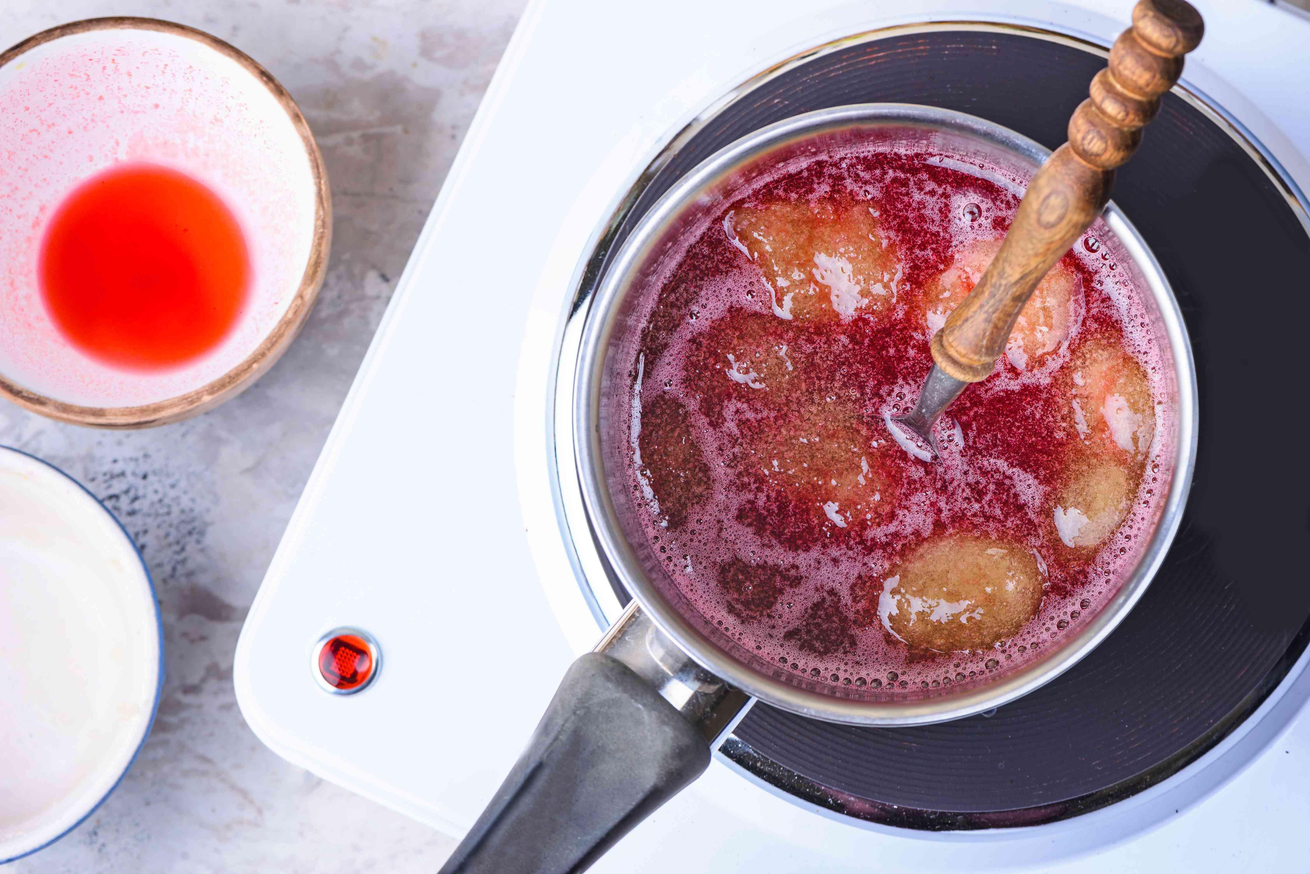 Stir in gelatin