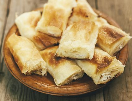 Traditional Bulgarian homemade breakfast Banitsa