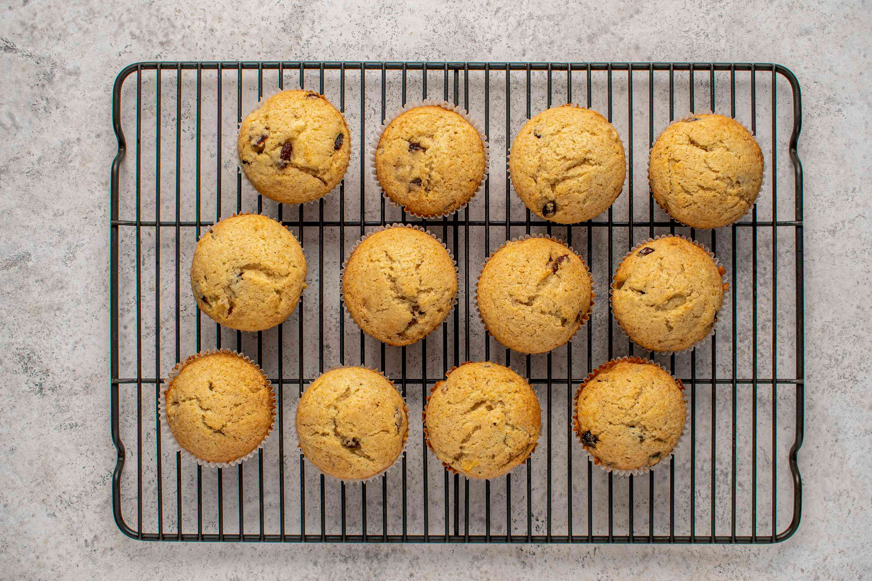 cupcakes on a cooling rack