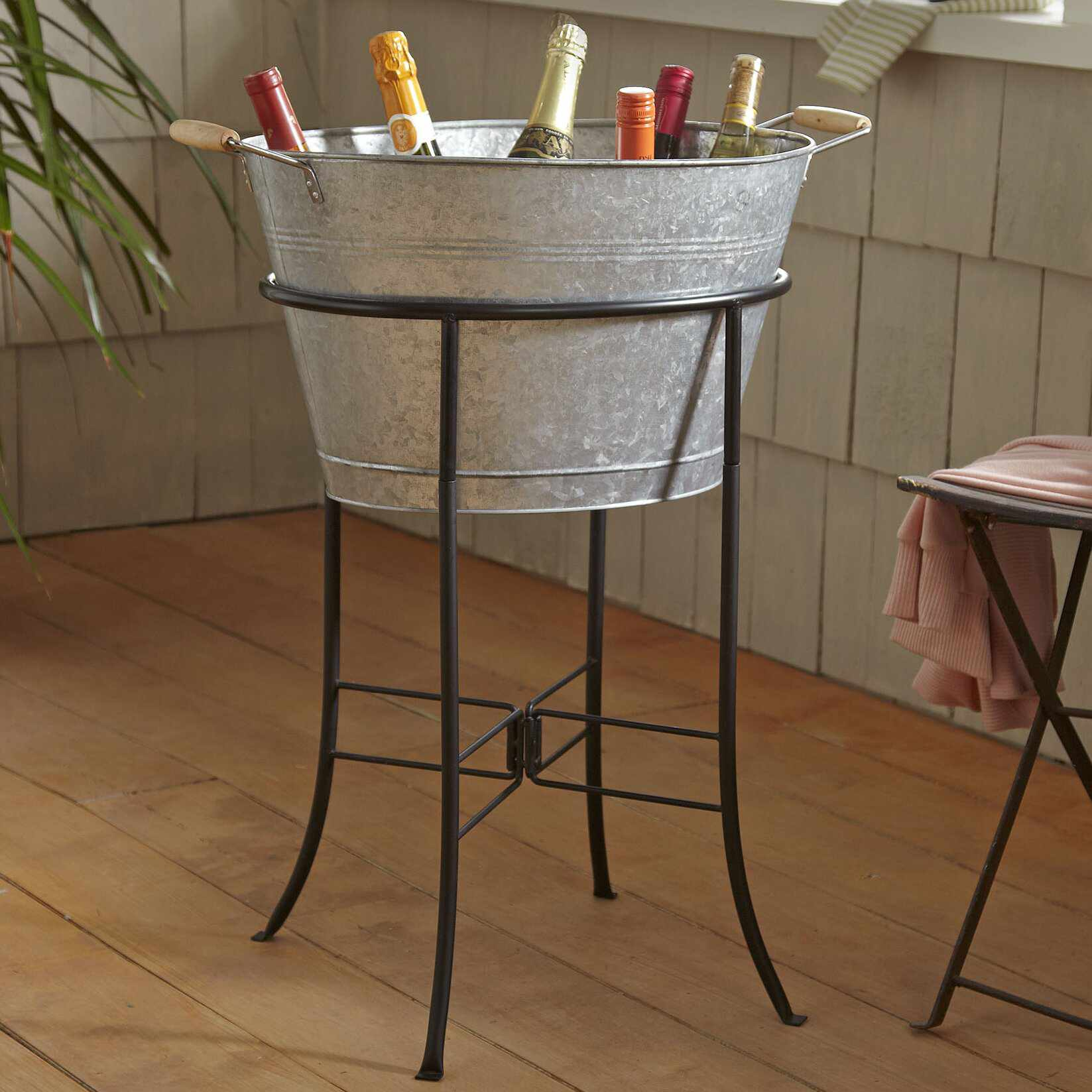 Hoyleton Beverage Tub with Stand