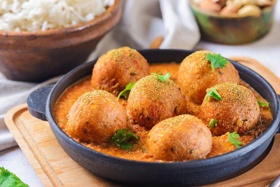 Malai kofta vege balls recipe