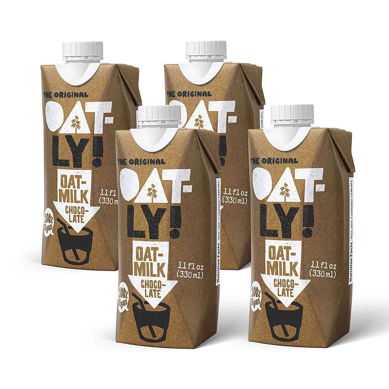 OATLY! Chocolate Oat Milk