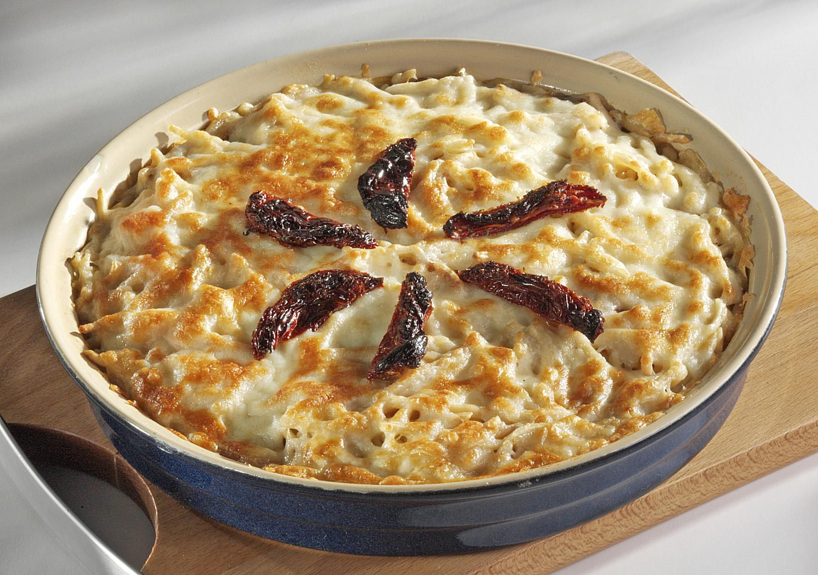 Turkish Baked Mac and Cheese