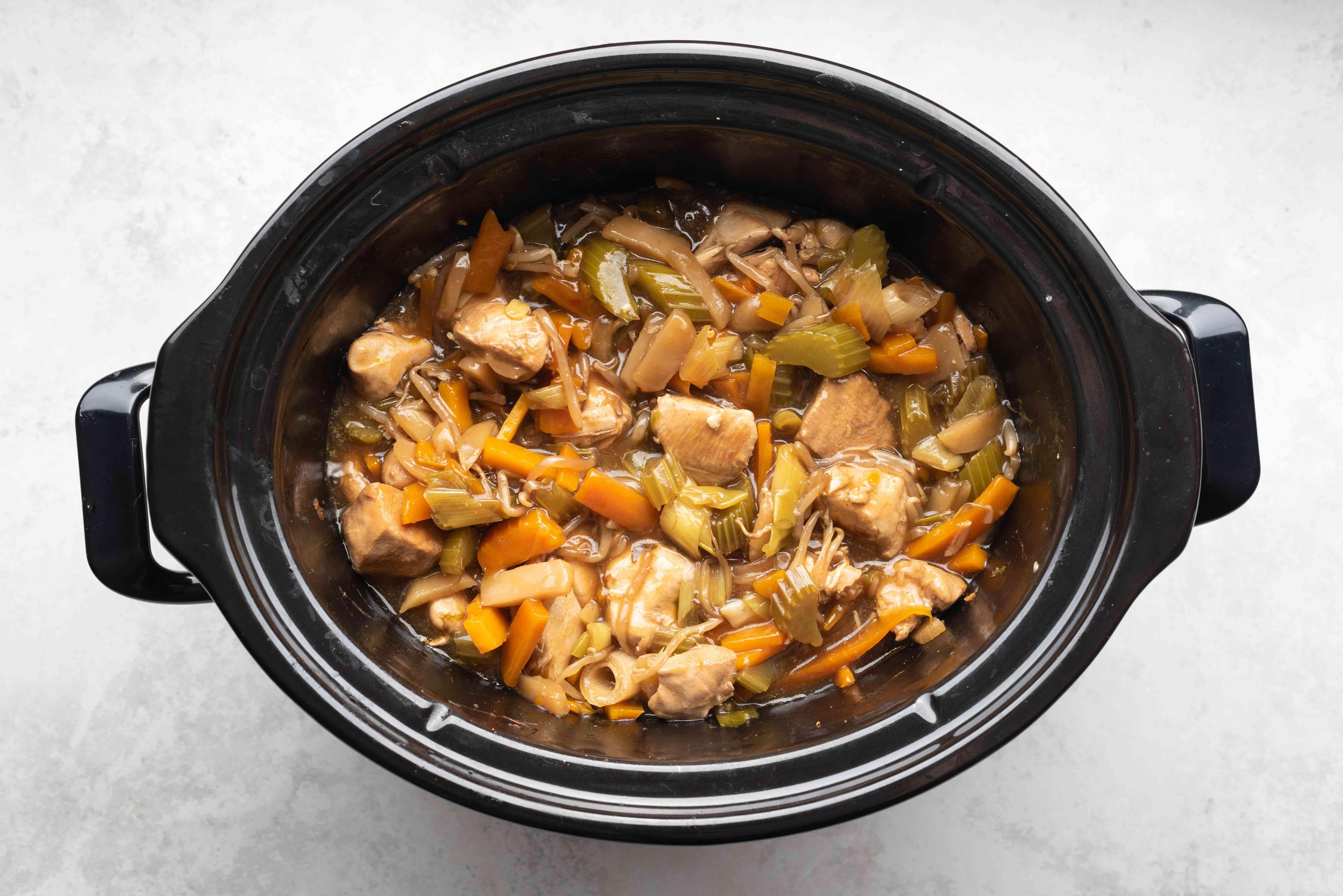 Crockpot Chicken Chow Mein