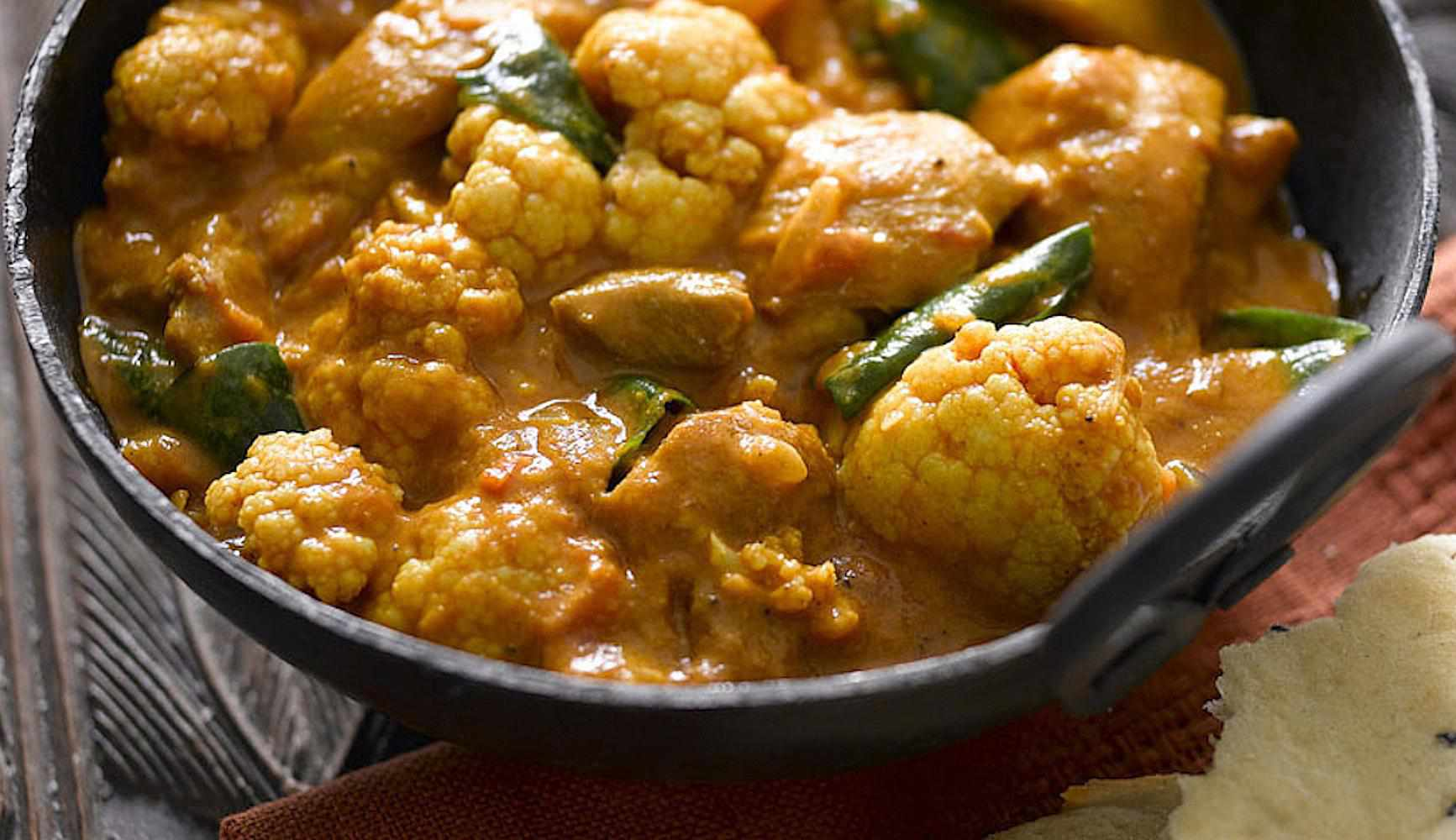 Cauliflower Curry
