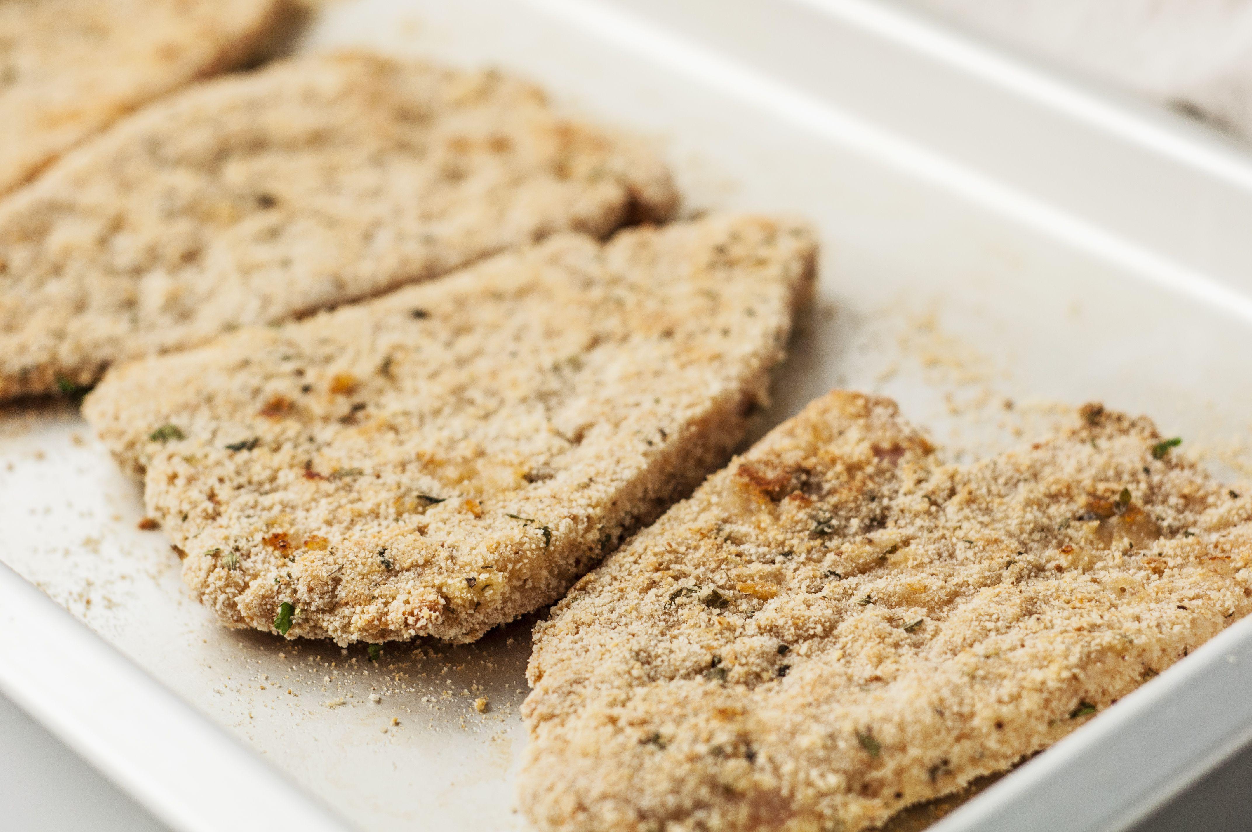 Baked Parmesan Turkey Cutlets Recipe
